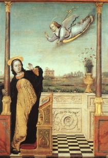 Bracces  The Annunciation, XVв.