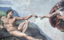 Michelangelo  The Creation of Man, 1508-12