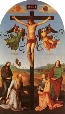 Raffael   Christ on the Cross , 1502