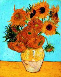 Sunflowers, Vincent van Gogh 1888